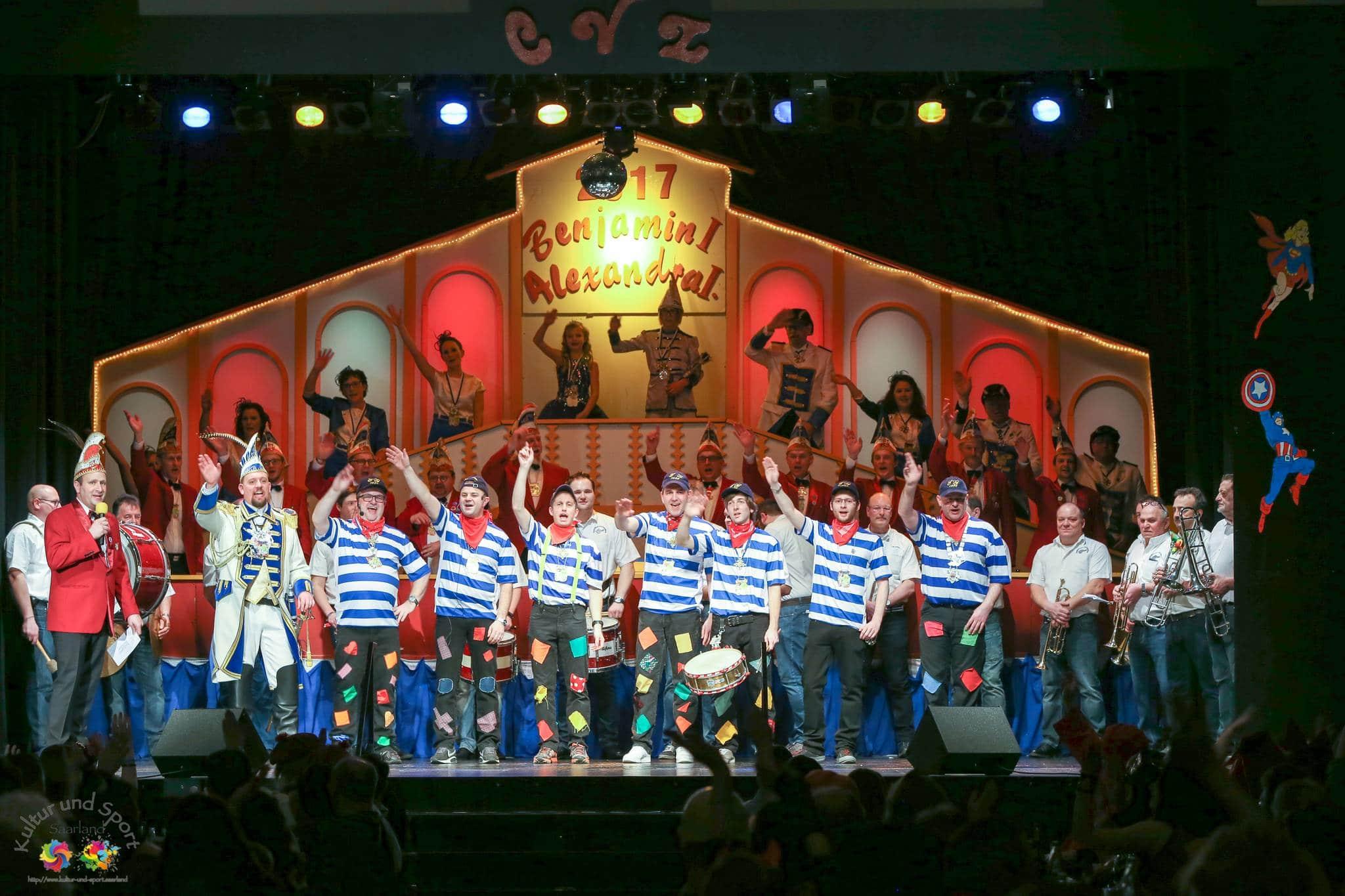 1. Kostümkappensitzung des Carneval Verein Lebach am 04.02.2017