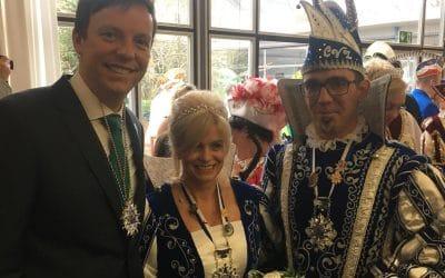 Empfang der saarländischen Prinzenpaare in der Staatskanzlei