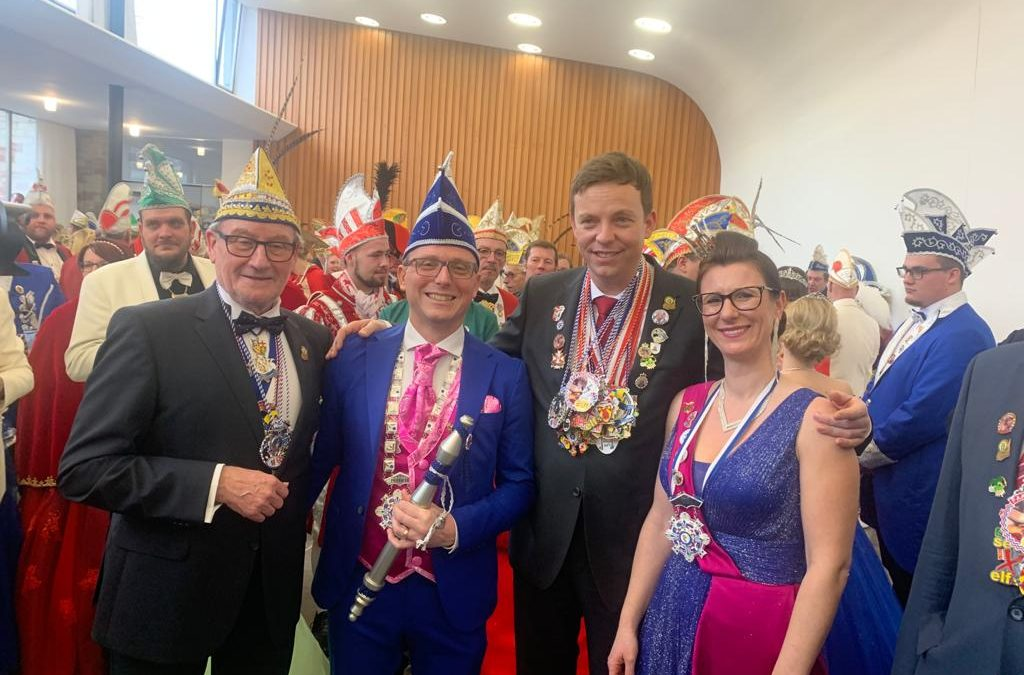 Empfang der Prinzenpaare in der Staatskanzlei Saarbrücken